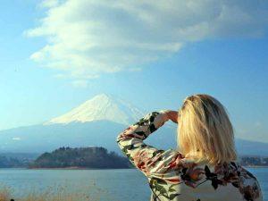 Naar de voet van Mount Fuji