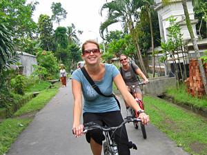 Cycling door het paradijs