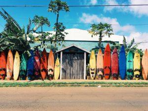 Surfen aan de oostkust
