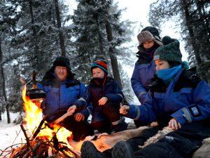 (Over)leef in winters Lapland